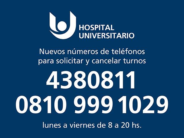 Nuevos números de teléfonos